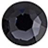 Swarovski Stones 2078 Xirius Roses Hf SS16 Graphite 144 Pcs